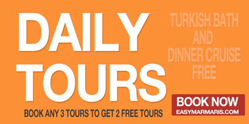 Daily Tours and activities - easymarmaris.com